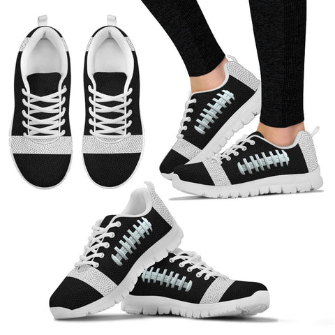 Football Black Premium Sneakers