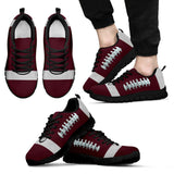 Football Maroon Premium Sneakers