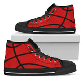 Basketball Light Red Premium High Top Shoes