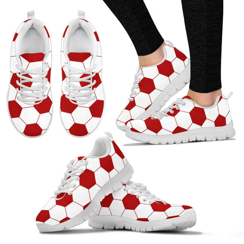 Soccer Red Premium Sneakers