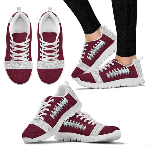 Football Burgundy Premium Sneakers