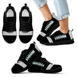 Football Black Premium Kids Sneakers