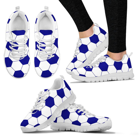 Soccer Navy Blue Premium Sneakers