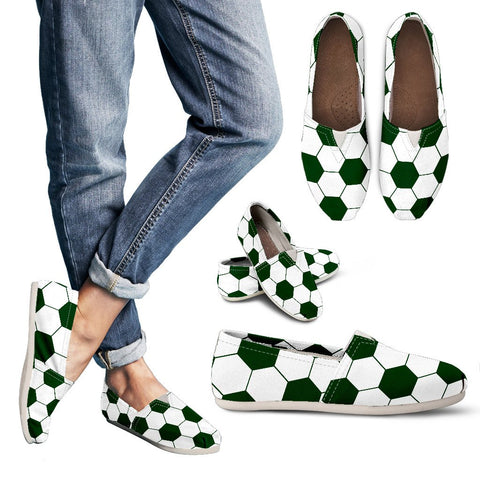 Soccer Green Premium Casual Shoes