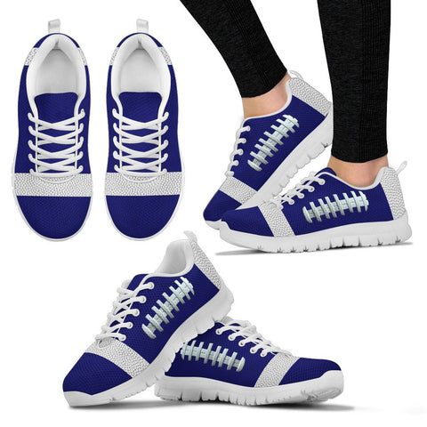 Football Navy Blue Premium Sneakers