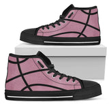 Basketball Pink Premium High Top Shoes