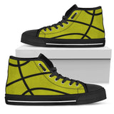 Basketball Yellow Premium High Top Shoes
