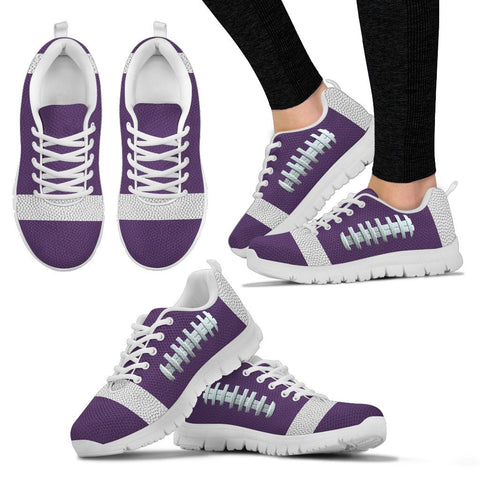 Football Purple Premium Sneakers