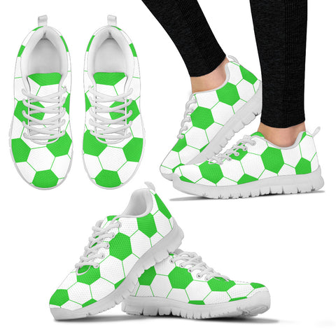 Soccer Lime/Light Green Premium Sneakers