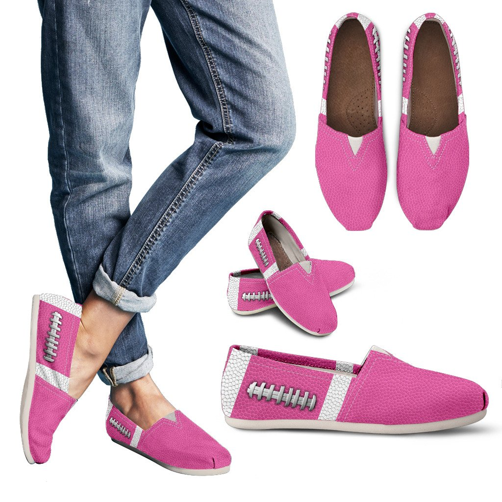 Football Hot Pink Premium Casual Shoes
