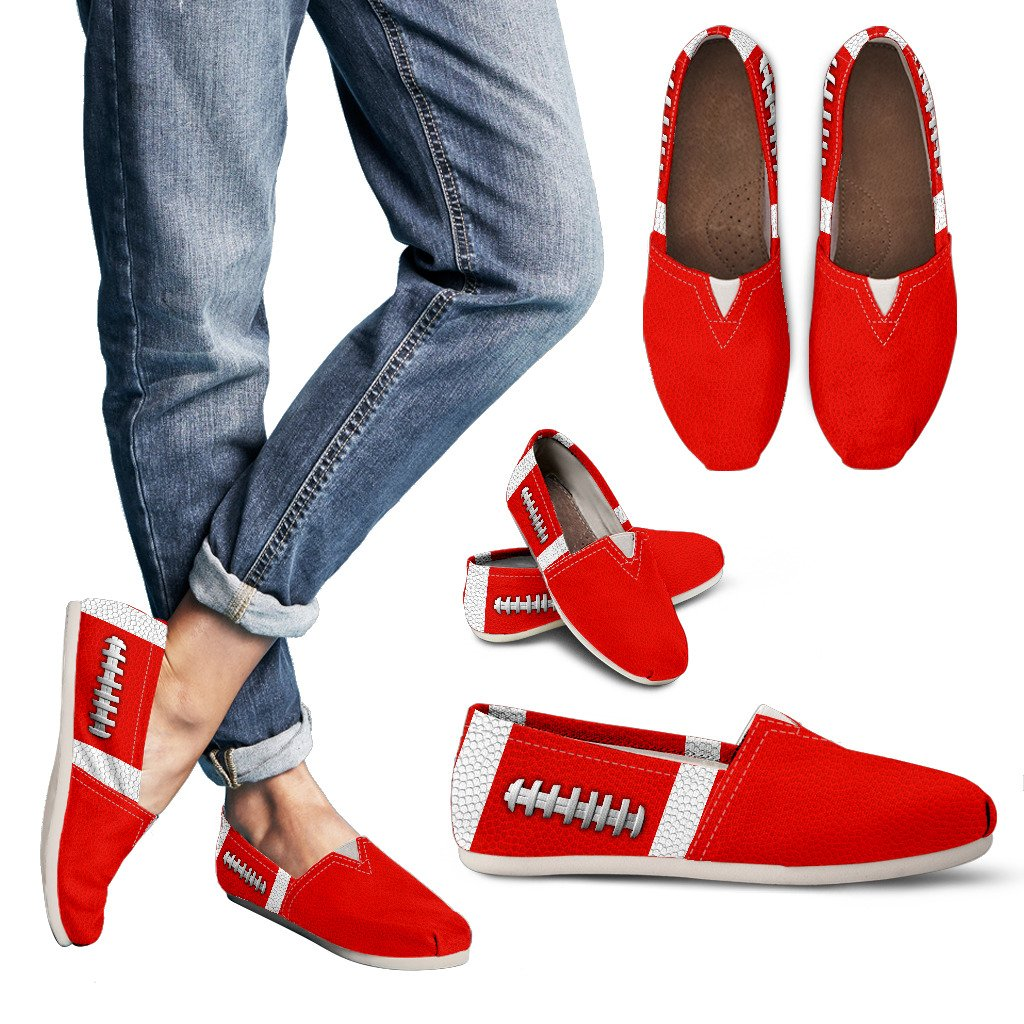 Football Light Red Premium Casual Shoes