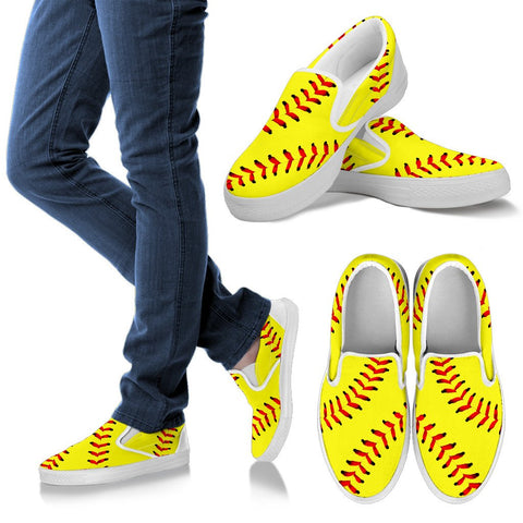 Softball (Original) Premium Slip-On Shoes