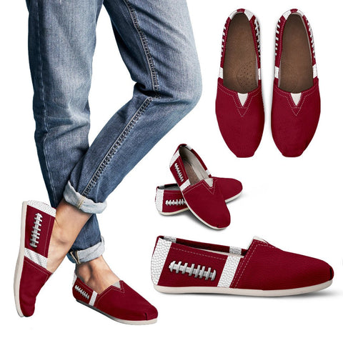 Football Burgundy Premium Casual Shoes