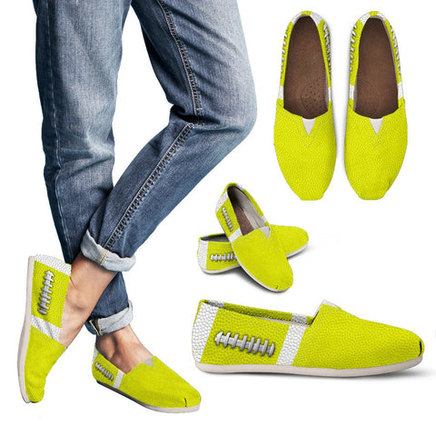 Football Yellow Premium Casual Shoes