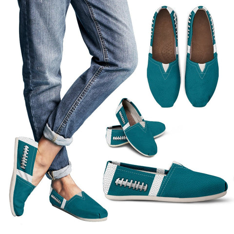 Football Teal Premium Casual Shoes