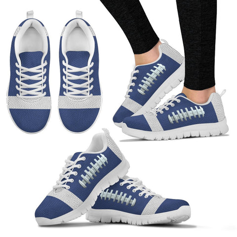 Football Blue Premium Sneakers