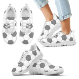 Soccer Gray Premium Kids Sneakers