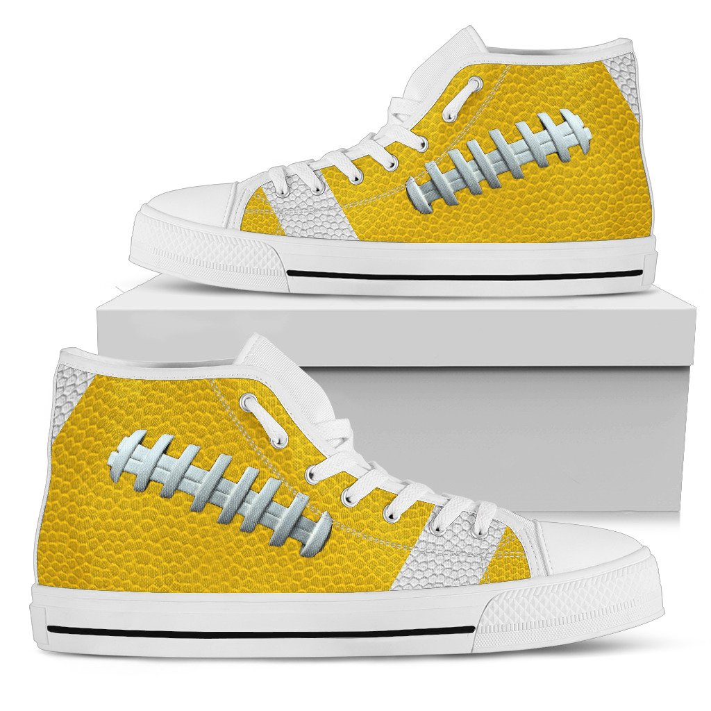 Football Gold Premium High Top Shoes