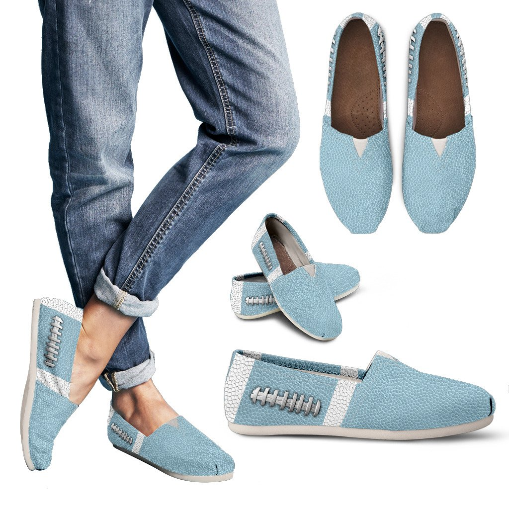 Football Light Blue Premium Casual Shoes