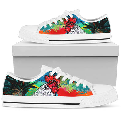 Colorful Chicken Low Top Shoes