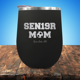 Sen19r Mom Soccer Stemless Wine Cup JA931