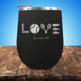Tennis LOVE V3 Stemless Wine Cup
