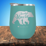 Baseball Uncle Bear Stemless Wine Cup