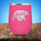 Basketball Mama Bear Stemless Wine Cup