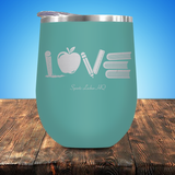 Teacher LOVE Stemless Wine Cup