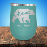 Mama Bear Est. 2018 Stemless Wine Cup