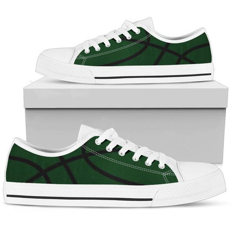 Basketball Green Premium Low Top Shoes