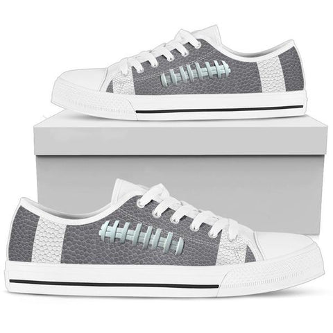 Football Gray Premium Low Top Shoes