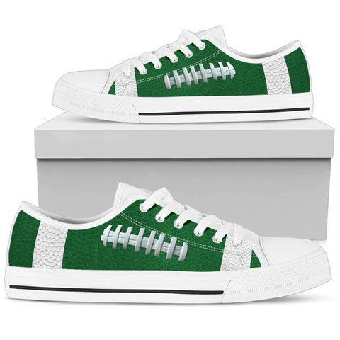 Football Green Premium Low Top Shoes