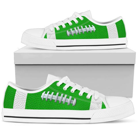 Football Kelly/Light Green Premium Low Top Shoes