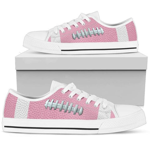 Football Pink Premium Low Top Shoes