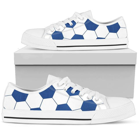 Soccer Blue Premium Low Top Shoes