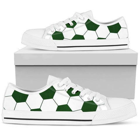 Soccer Green Premium Low Top Shoes