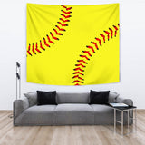 Softball Premium Tapestry