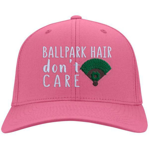 Ballpark Hair Don't Care Cotton Twill Hat