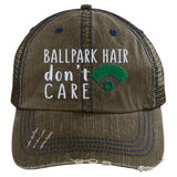 Ballpark Hair Don't Care Trucker Hat