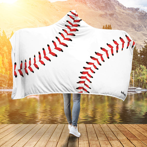Baseball Premium Hooded Blanket