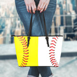 Baseball & Softball Leather Handbag (Special Half&Half Edition)