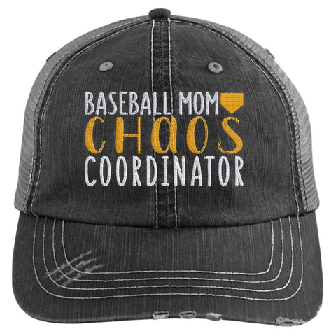 Baseball Mom Chaos Coordinator Trucker Hat