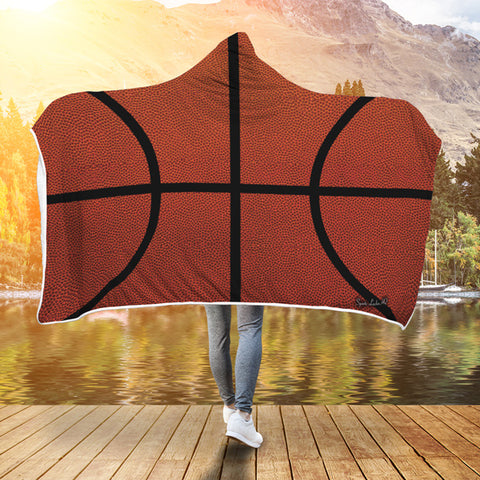 Basketball Premium Hooded Blanket