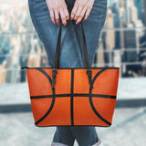 Basketball Leather Handbag