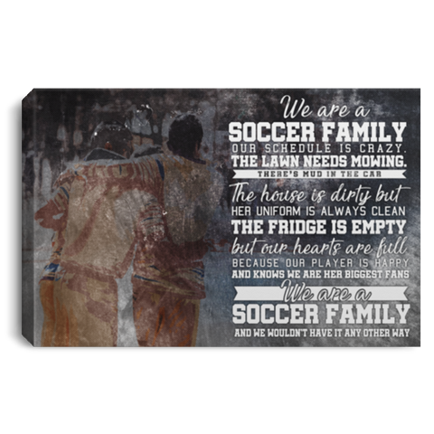 A Soccer Family #1 Canvas Wall Art ALCA230