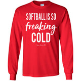 Softball Freaking Cold Youth Apparel SA466