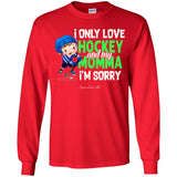 I Only Love Hockey and Mama Youth Apparel SA453