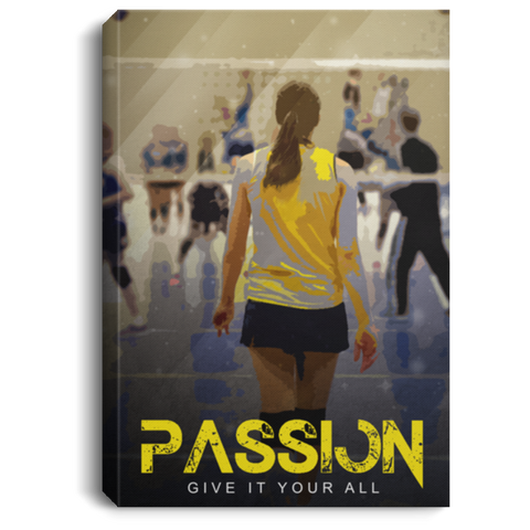 Give It Your All Volleyball Canvas Wall Art ALCA205