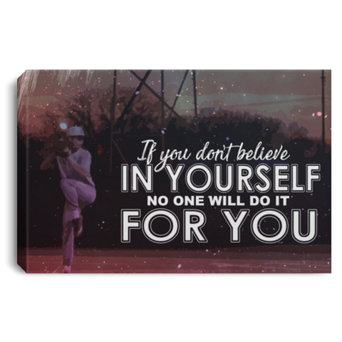 Believe In Yourself Canvas Wall Art ALCA1054